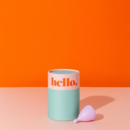 The Hello Cup Menstrual Cup - XS Lilac