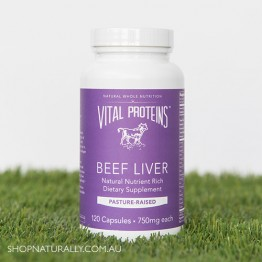 Vital Proteins Beef Liver Capsules - 120
