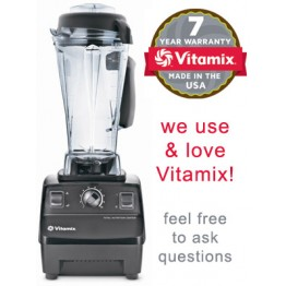 Vitamix Blender (5200 Total Nutrition Center) - Standard Package - Black