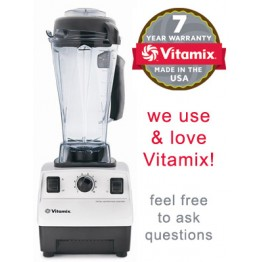 Vitamix Blender (5200 Total Nutrition Center) - Standard Package - White