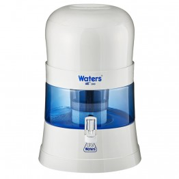 Waters Co Bio Mineral Pot 10L Bench Top Water Filter with 99.99% fluoride removal