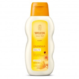Weleda Calendula Baby Oil, Fragrance Free - 200ml