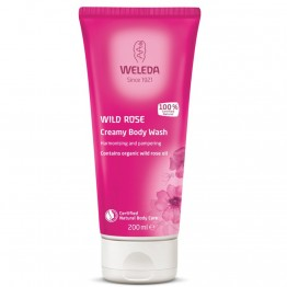 Weleda Wild Rose Creamy Body Wash - 200ml