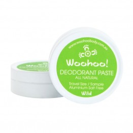Woohoo Body! Natural Deodorant Paste - Wild 10g Sample Tin