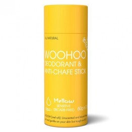 Woohoo Body! Natural Deodorant & Anti Chafe Stick - Mellow 60g
