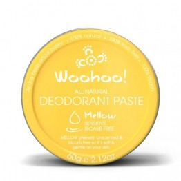 Woohoo Body! Natural Deodorant Paste - Mellow 60g tin