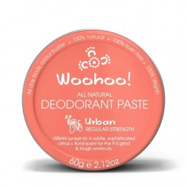 Woohoo Body! Natural Deodorant Paste - Urban 60g tin