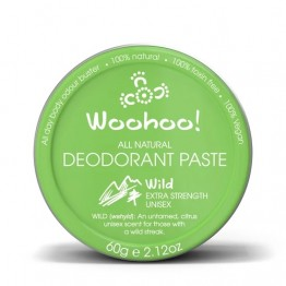 Woohoo Body! Natural Deodorant Paste - Wild 60g tin