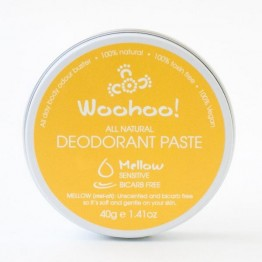 Woohoo Body! Natural Deodorant Paste - Mellow 40g tin