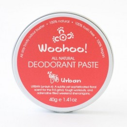 Woohoo Body! Natural Deodorant Paste - Urban 40g tin
