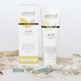 Wotnot Anti-Aging Natural Face Sunscreen SPF30 - 75g
