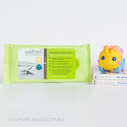 Wotnot Travel Wipes 100% Biodegradable and Alcohol Free 20pc - Refill pack