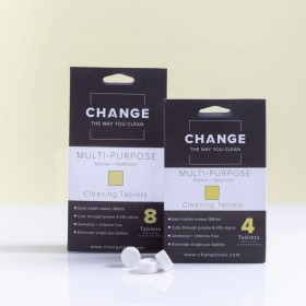 Change Multipurpose Cleaning Tablets - 2 Sizes