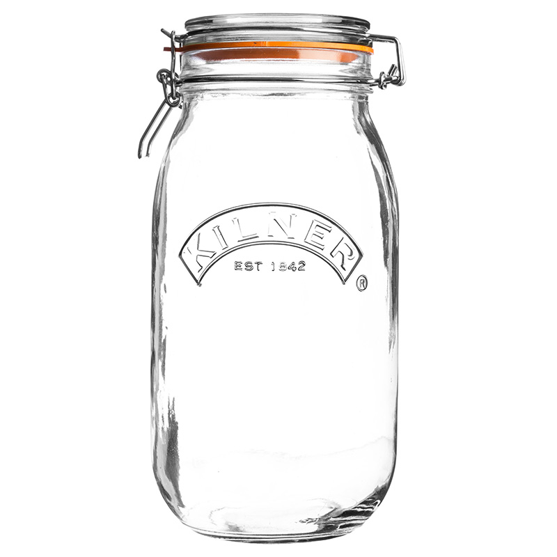 Airtight Glass Jar With Leak Proof Rubber Gasketmulti Purpose