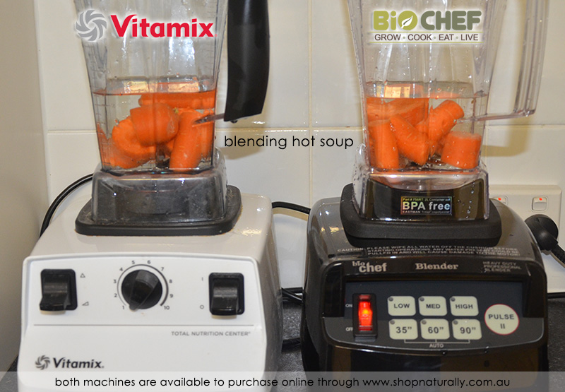 The Vitamix is the clear winner here