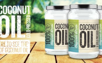 NEW: Cocolife Coconut Oil in an aerosol can