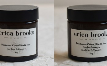 New Erica Brooke Deodorant review from Clean Beauty Talk