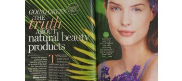 Natural Beauty products mainstream media attention