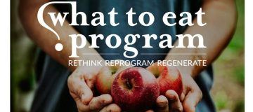 What To Eat - the only nutrition program I have ever recommended