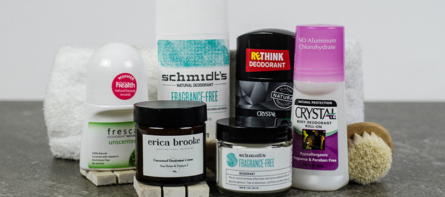 Do unscented natural deodorants work?