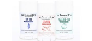 New Sensitive natural deodorant range from Schmidt's