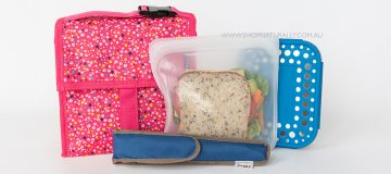 Introducing Stasher Reusable Lunch Bags + WIN a set