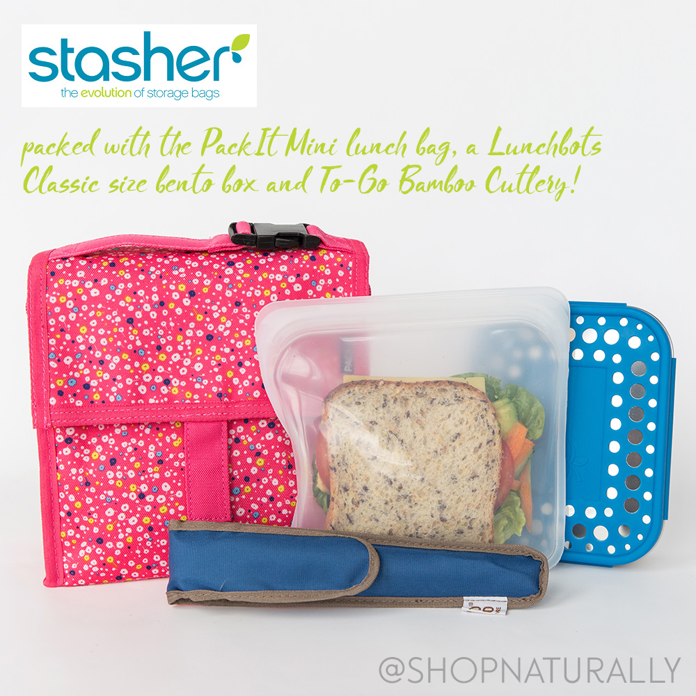 Introducing Stasher Reusable Lunch Bags Win A Set Shop