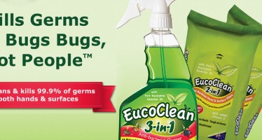 Don't let the bed bugs bite + loads of other uses for the Eucoclean 3-in-1 Disinfectant Bed Bug Spray
