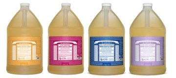 Dr Bronner's Castile Soap now available in 3.8 litre size