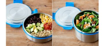 Lunchbots Clicks - the leakproof lunch box with no plastic touching your food