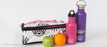 What fits inside the Project Ten insulated lunch bag
