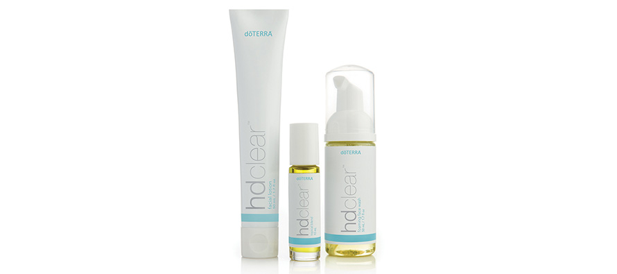 Introducing all three products in the HD Clear range from doTERRA
