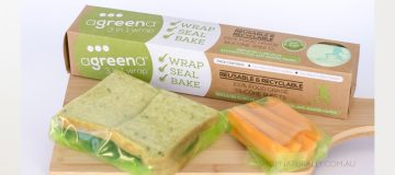Agreena 3-in-1 silicone food wraps arrive
