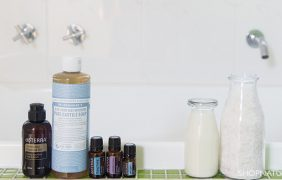 The safe way to add essential oils to your bath using only natural ingredients