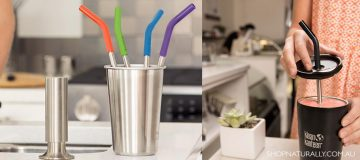 Stainless Steel Straws new to the Klean Kanteen range
