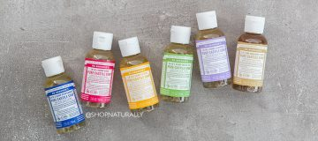 18 ways to use Dr Bronner's Castile Soap