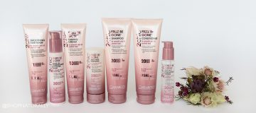 NEW! Frizz be gone hair care range from Giovanni