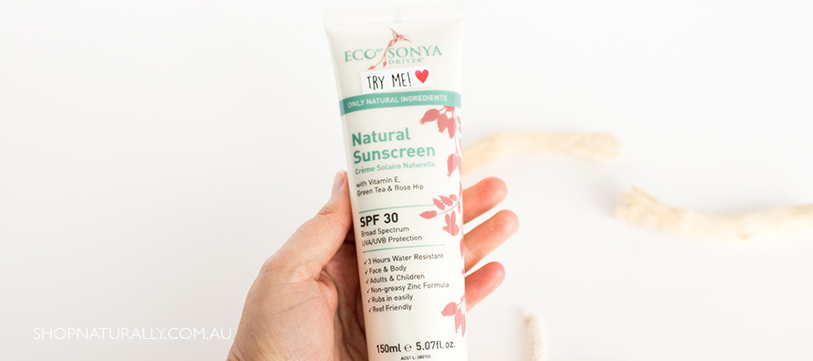 Up close with the new Rosehip Sunscreen from Eco Tan