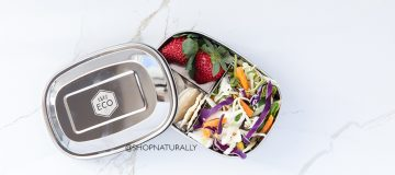 New - Ever Eco stainless steel snack boxes