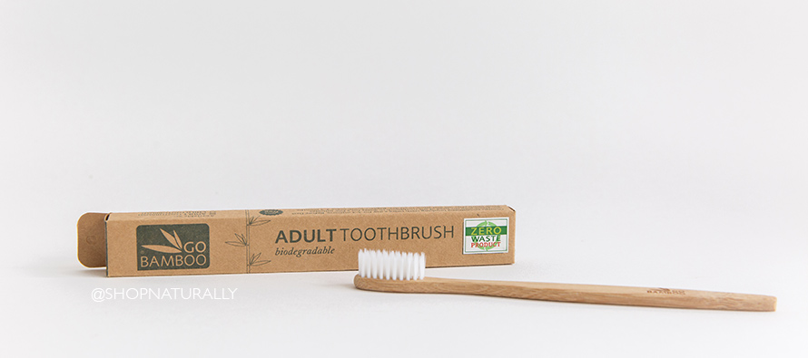 Bamboo toothbrushes... and the alternatives.