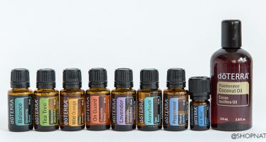 New pack from doTERRA. What's in the Aromatouch kit.