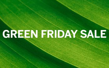 Green Friday Cyber Monday 4 day sale 2017
