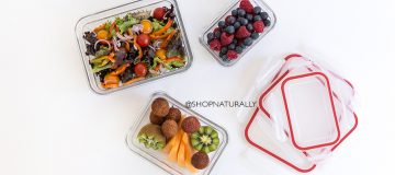 Using Glasslock glass food containers for your lunch