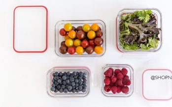 All your kitchen storage needs with Glasslock glass food containers
