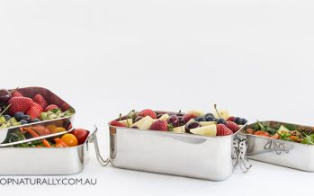 New Cheeki lunch boxes – stainless steel AND leakproof options