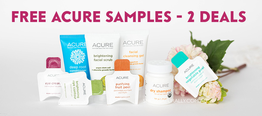 FREE Acure Lucky Dip Deals - qualify for both