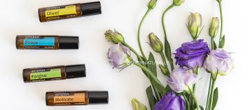 doTERRA touch essential oils