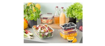 The new Glass Lunch Box from Kilner