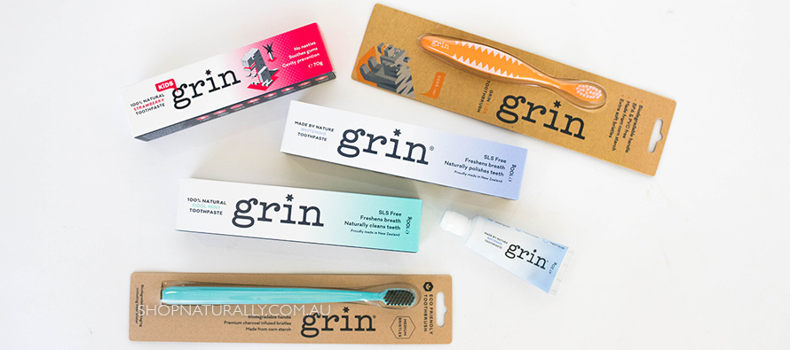 Introducing Grin Natural Toothpaste & Biodegradable Toothbrushes