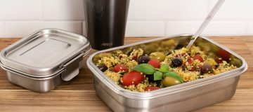 Introducing Avanti Dry Cell Leakproof Stainless Steel Meal Prep Containers